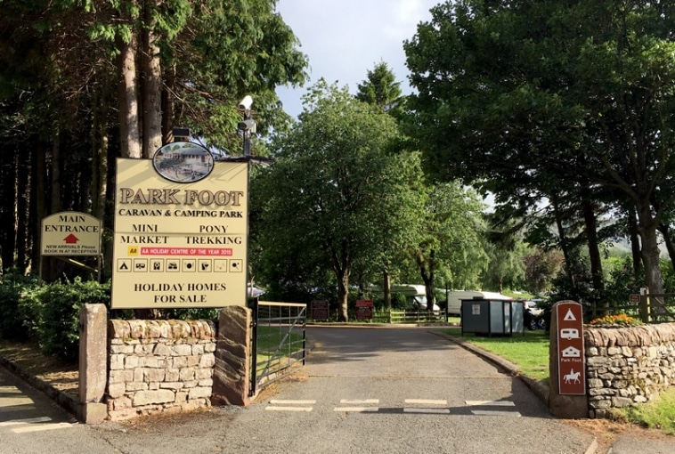 Park Foot Camp SIte