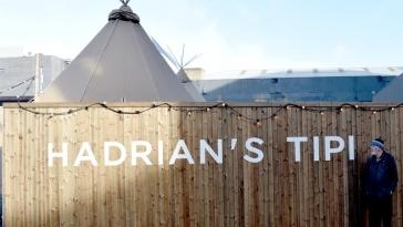 Hadrian's Tipi Newcastle 2017