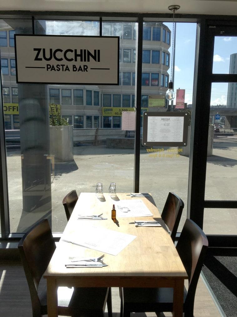 Zucchini Pasta Bar Newcastle