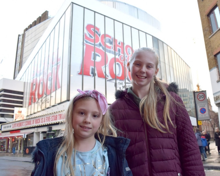 Is School of Rock the Musical suitable for kids