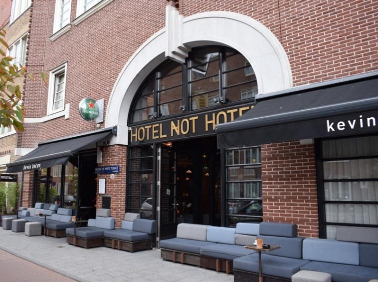 Hotel not a hotel Amsterdam