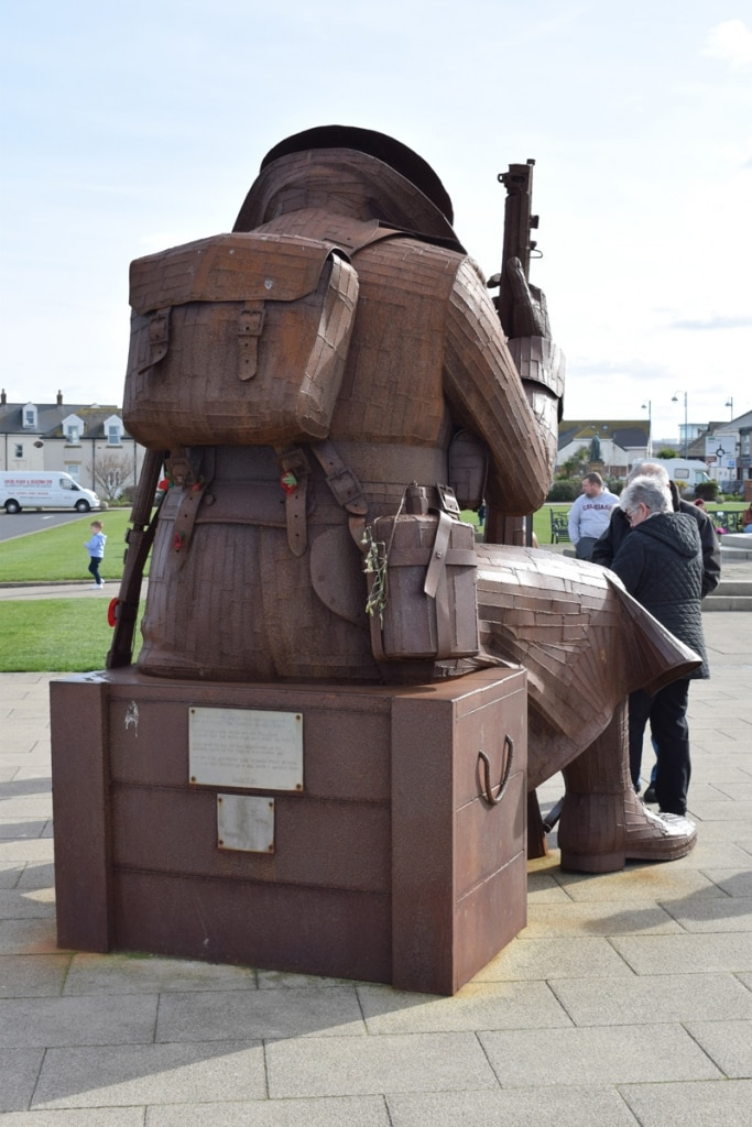 Tommy statue at Seaham