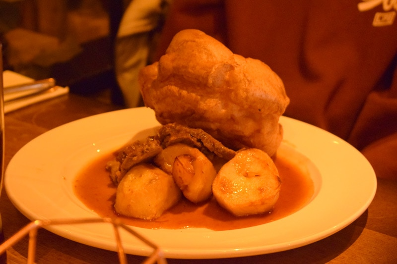 Sunday Dinner at The Woodmans Arms Whickham